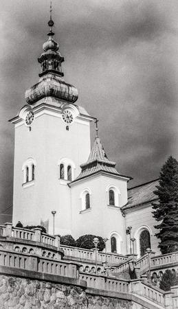 slovakia: Catholic church in Ruzomberok, Slovakia