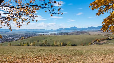 slovakia: Autumn in region Liptov, Slovakia Stock Photo