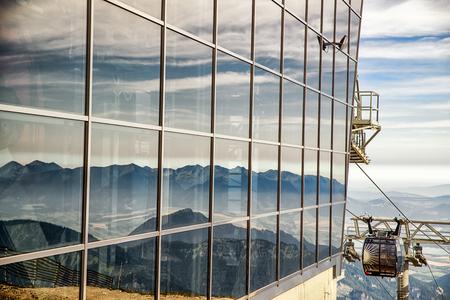 Mountain resort Jasna in Low Tatras at Slovakia Editorial