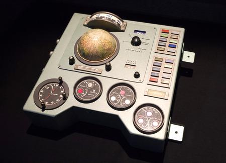 vostok: Old Soviet dashboard from spaceship Vostok