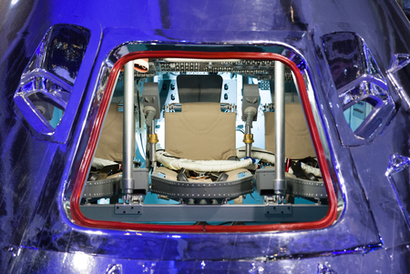 interior spaces: Spaceship Apollo - cabin at command module