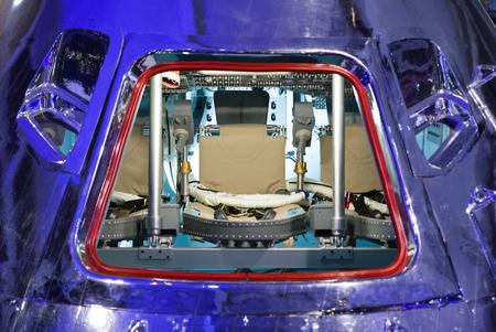 Spaceship Apollo - cabin at command module