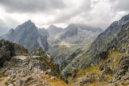 mountainscape: Mountainscape at High Tatras mountains, Slovakia