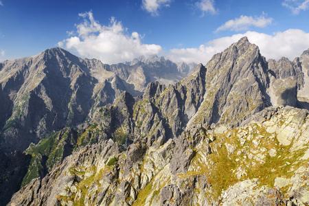 High Tatras mountains in summer, Slovakia