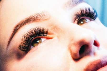 Artificial 4D lashes Stock Photo - 74716683