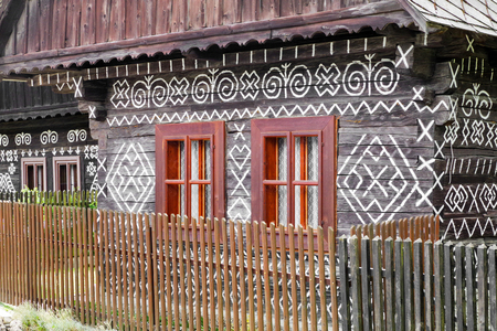 Rural cottage in village CIcmany, Slovakia