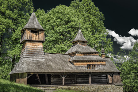 The Greek Catholic wooden church of St Cosmo and Damian in Lukov - Venecia,  Slovakia