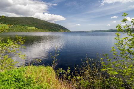Lake Loch Ness at  Scottish Highlands
