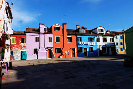 colourfully: Colourfully painted houses on Burano island