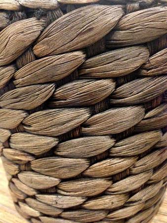 basket: Brown basket