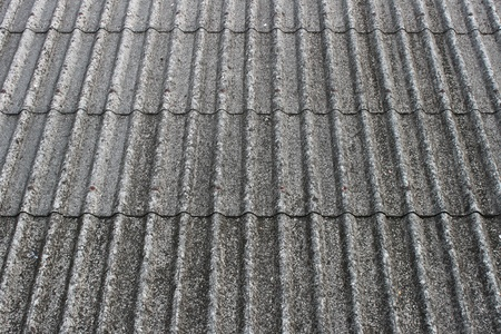 old roof tile texture Stock Photo