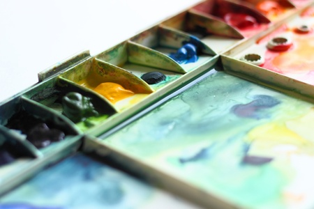 pallette: aquarelle palette