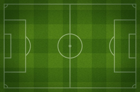 aerial views: soccer field