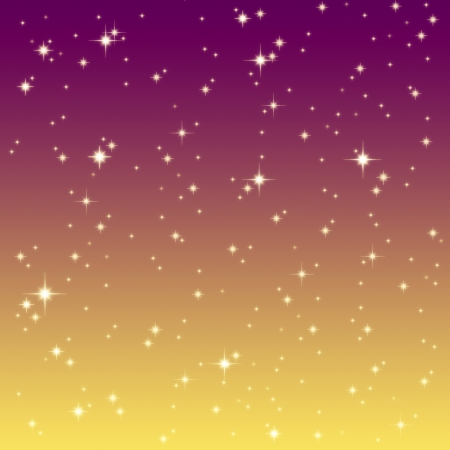 starlight: starlight on the colorful sky  Stock Photo