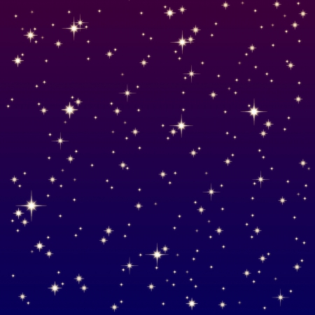 starlight on the colorful sky  Stock Photo