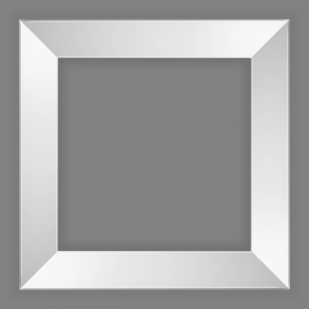 grey picture frame
