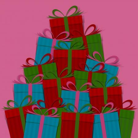 Many gift box Stock Photo - 15938075