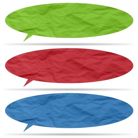 rumple: Crumpled paper bubble for speech