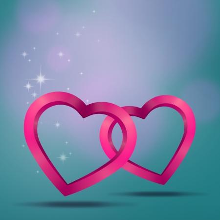 backgrund: Hearts backgrund Stock Photo