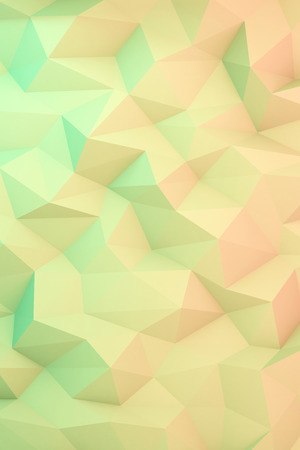 abstract colorful low polygon background Stock Photo