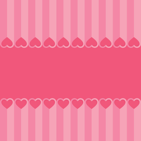 cut paper: Love hearts Valentines day background , paper cut style