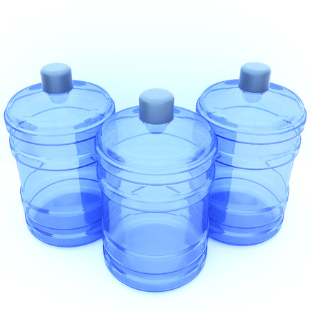big bottle of water Stock Photo