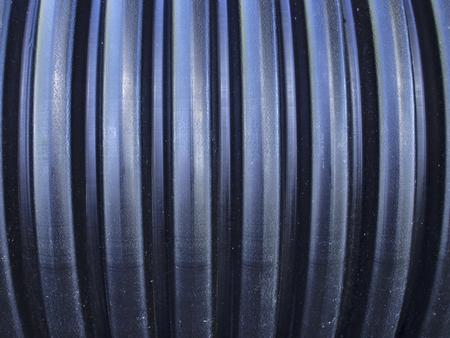 desague: Negro de la textura del interior de tuberías Foto de archivo
