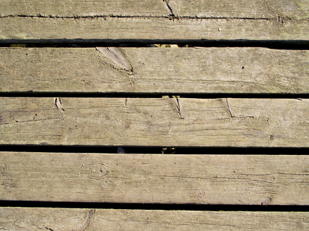 planking: Wood Planking With Gaps
