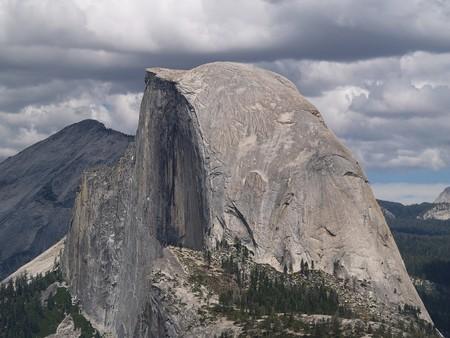 half dome: Half Dome in Yosemite National Park, California