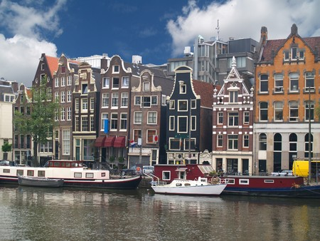 on the canal: Amsterdam
