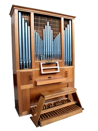 pipe organ: Isolated Church Organ