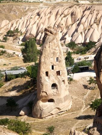 phallus: Sandstone formations in Cappadocia, Turkey