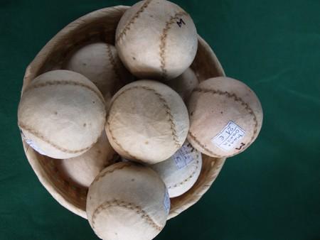 basque country: Jai Alai playing balls