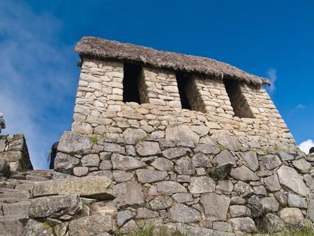 Machu Picchu guardhouse (Peru) photo