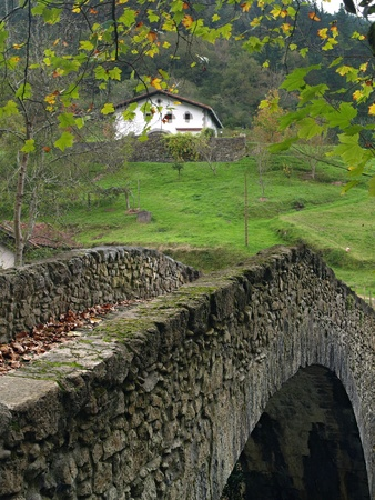 basque country: Rural Basque Country landscapes, Spain