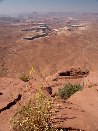 canyonlands national park: Strange rock formations at Canyonlands National Park, USA Stock Photo