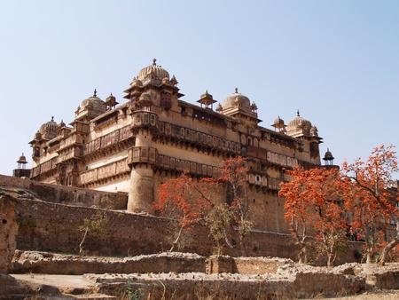pradesh: Palace in Orcha, Madhya Pradesh