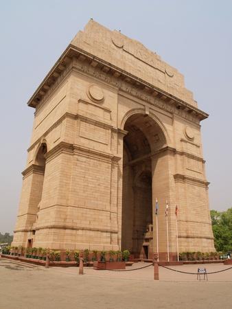 delhi: India Gate at New Delhi, India Stock Photo