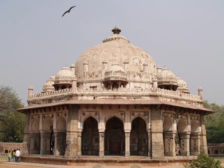 khan: Isa Khan Tomb Enclosure at New Delhi, India