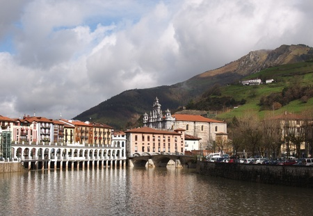 san sebastian: Tolosa is a town and municipality to the south of Donostia-San Sebastián in the Basque province of Gipuzkoa, Spain. It is located in a valley of the river Oria and overlooked by Uzturre, a white cross-topped mountain.