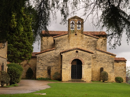 julian: Also known as Santullano, is a Pre-Ramirense church from the beginning of the 9th century in Oviedo, the capital city of the Principality of Asturias, Spain.
