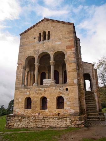 part of me: La iglesia de Santa María en el Monte Naranco es una católica asturiana iglesia prerrománica de arquitectura asturiana en la ladera del Monte Naranco situado a 3 km de Oviedo, norte de España. Ramiro I de Asturias ordenó que se construyó como palacio real, como parte