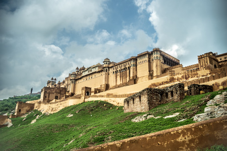 Amber Palace heritage tourist destination in jaipur