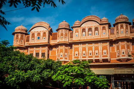 Pink City heritage tourist destination in jaipur 新闻类图片