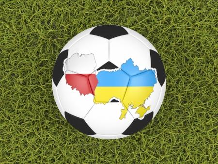 Euro 2012 soccer ball photo