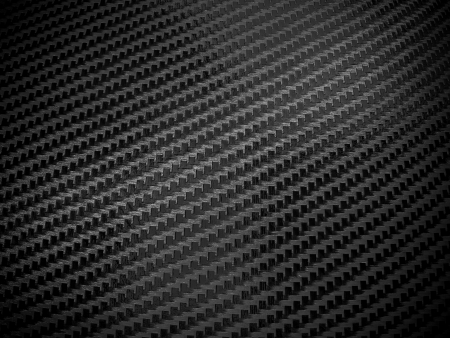 Shiny, black carbon fibre background photo