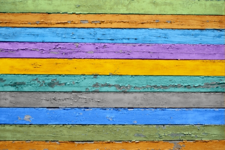 Color wood background photo