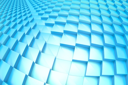 Cubes abstract background Stock Photo