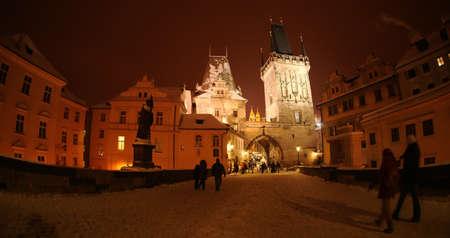 Prague before Christmas 35 Stock Photo