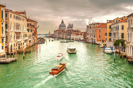 Greatest place of love and beauty of art on the ground in Venice, Italy photo